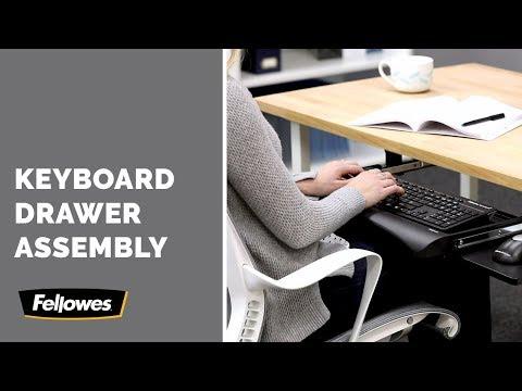Lorell Underdesk Keyboard Drawer