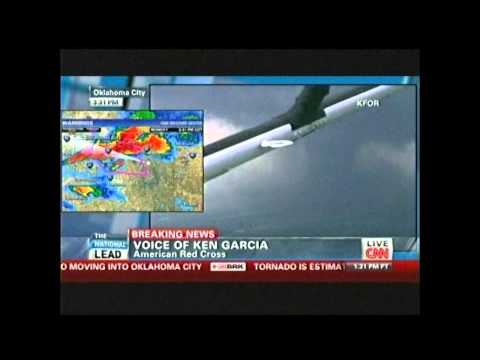 Live, As It Happened News Footage of the Moore, Oklahoma EF5 Tornado -- 5/20/13