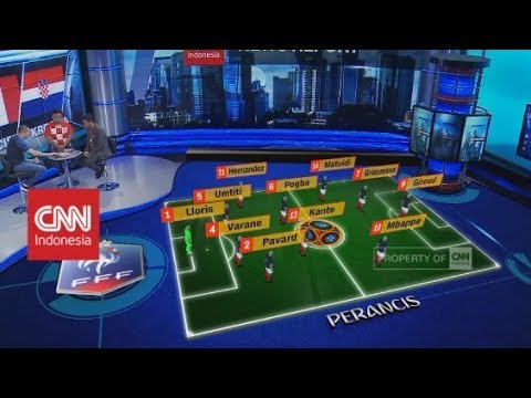 Siapa Juara? - Preview Final Piala Dunia 2018, Perancis VS Kroasia!