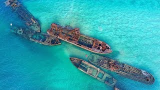 6 Ship GRAVEYARDS Around the World!