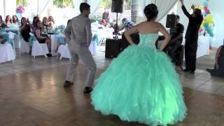 brother sister surprise dance