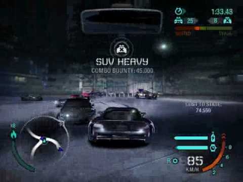 need for speed carbon epic police chase youtube. Black Bedroom Furniture Sets. Home Design Ideas