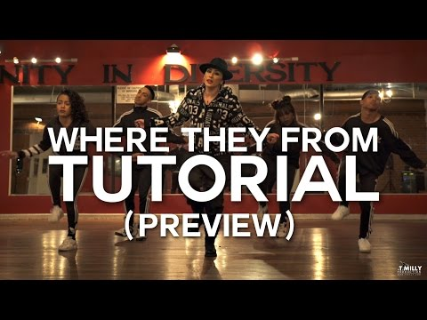 [Tutorial PREVIEW] Missy Elliott - WTF (Where They From) @_TriciaMiranda Choreography