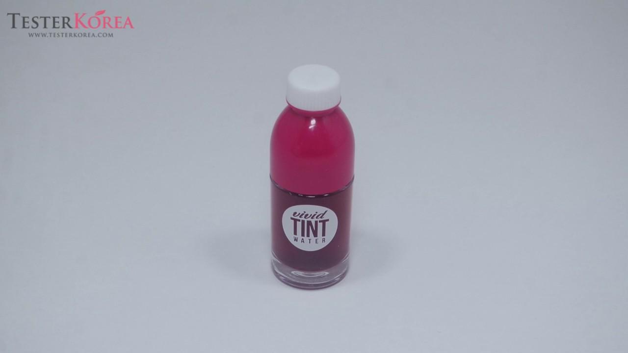 Testerkorea Peripera Vivid Tint Water Youtube New Periamp039s Ink