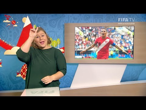 FIFA WC 2018 - AUS vs. PER – for Deaf and Hard of Hearing - International Sign