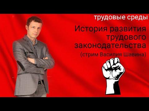 История развития трудового законодательства (стрим Василия Шавина)