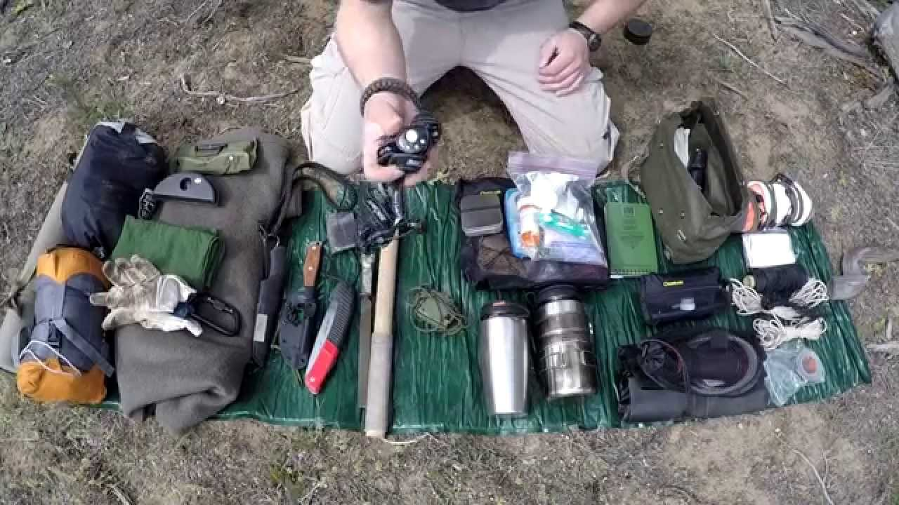 Budget Backpack Bushcraft Hiking Survival Youtube