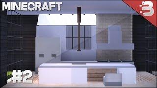 Minecraft Modern Kitchen Tutorial #2 YouTube