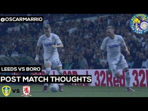 "Leeds v Boro | ""It was a fascinating game from start to finish"" @oscarmarrio post match review"