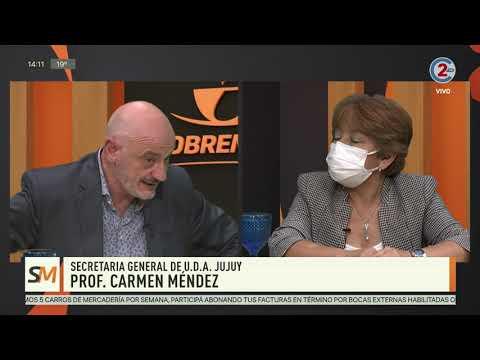 Sobremesa 30-11-20| Prof. Carmen Méndez - Secretaria General de U.D.A. Jujuy