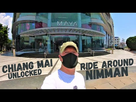 Nimmanhaemin Chiang Mai | Ride Around Nimman after Lockdown lifted