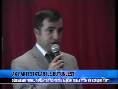 Ak Parti Ağrı İl Başkanı Av. Abbas Aydın'ın 04 Mart 2010 STK Toplantısı Konuşması