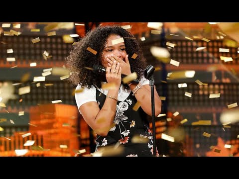 How Mel B's Golden Buzzer, Amanda Mena, Hopes to Inspire Other Kids on AGT (Exclusive)