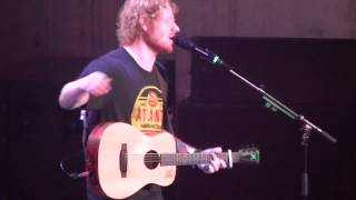 Ed Sheeran - Atlanta, Georgia 2015 - You Need Me, I Don't Need You