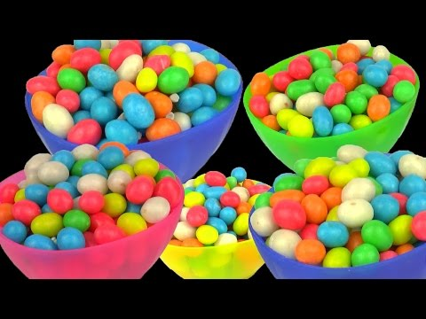 Kinder Surprise Eggs Toys Play Doh Dippin Dots M&M's Candy