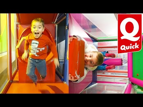 VLOG - FUN INDOOR QUICK -  Aire de Jeux La Maison de Quickos - Indoor Playground
