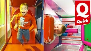 VLOG - FUN INDOOR QUICK - Aire de Jeux La Maison de Quickos - Indoor Playground