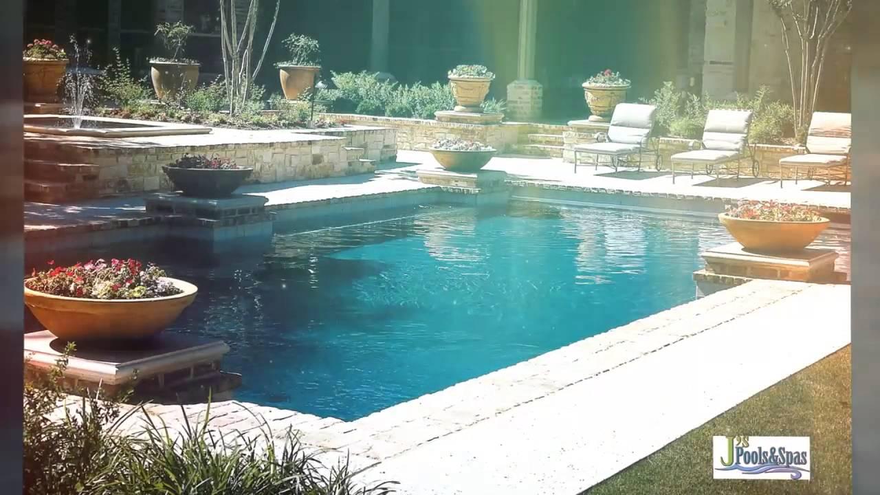 J\'s Pools & Spas, Swimming Pool Builders in Houston TX - YouTube