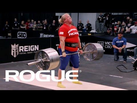 Kristin Rhodes vs. 616lbs | Rogue Record Breakers 2020