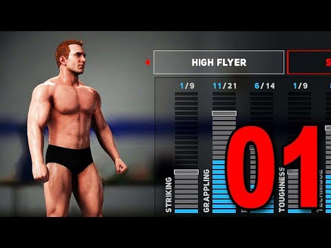 WWE 2K18 My Player Career - Part 1 - Character Creation! thumbnail