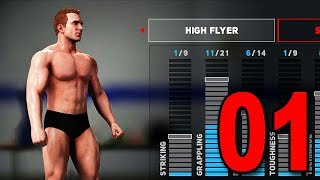 WWE 2K18 My Player Career - Part 1 - Character Creation!