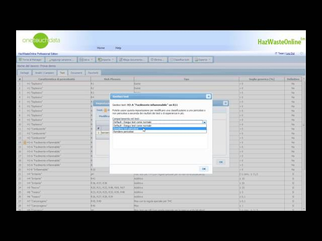 HazWasteOnline: Inserire i dati manualmente Parte II