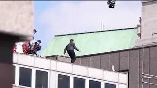 Фильм Миссия невыполнима 6 Том Круз травмировал ноги!!!!
