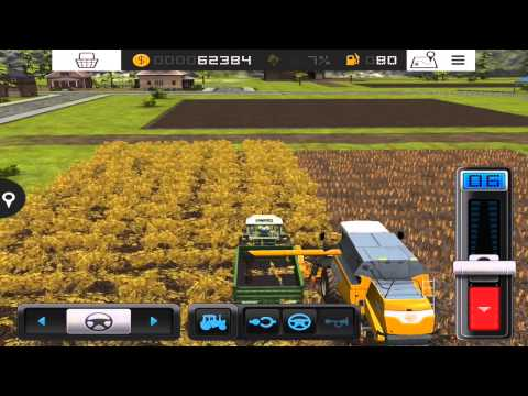 Farming Simulator 16 - #2 Straw and grass for cows - Gameplay