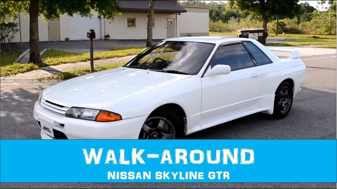 1990 Nissan Skyline GT R U2013 Crystal White U2013 1424