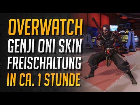 Overwatch | So erhaltet ihr leicht den Genji Oni Skin ★ Overwatch Deutsch