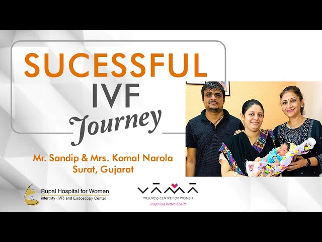 1st attempt IVF success after repeated miscarriages & IVF failures @ Rupal Hospital, Dr. Rupal Shah.