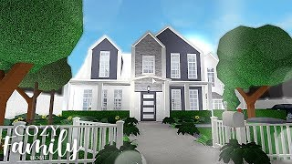 Roblox | Bloxburg | Cozy Suburban Family Home