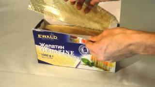Желатин листовой EWALD / Gelatine EWALD