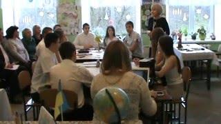 Відкритий урок з англійської мови( Хирів)частина 1