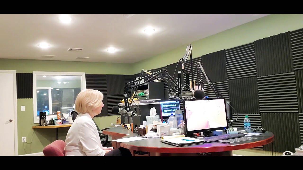 Interview on Virginia Talk Radio Network