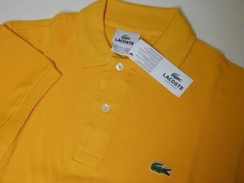 Hướng dẫn cách phân biệt áo thun Lacoste thật và nhái
