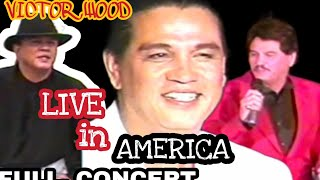 LIVE IN AMERICA  | VICTOR WOOD | with interview Buhay America part 1.