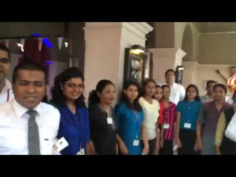 KFC Sri Lanka Power Boosting Energy Cheer Oct 2015