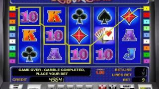 Игровой автомат King of Cards от Novomatic