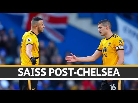 Saiss reacts to a point at Chelsea
