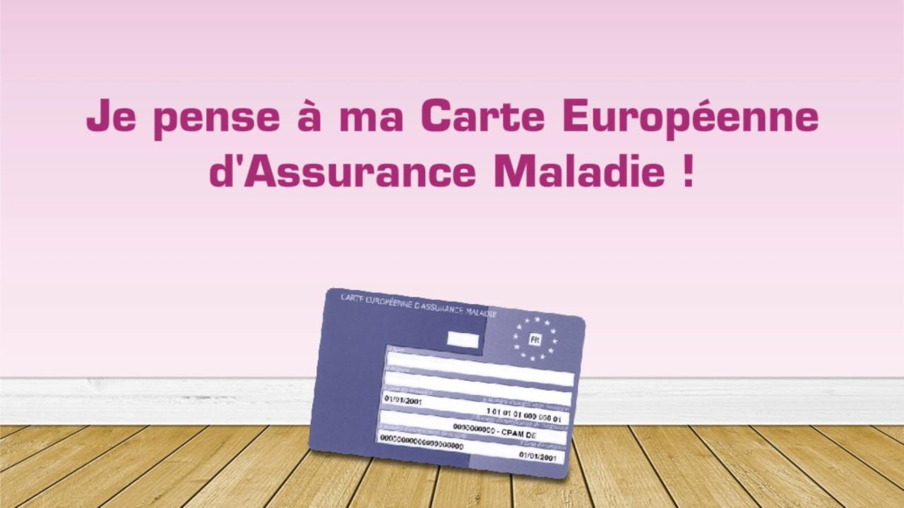 Carte Europeenne Dassurance Maladie Imprimer.Ma Carte Europeenne D Assurance Maladie