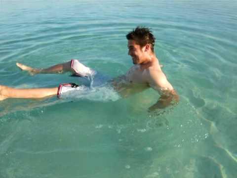 Dead Sea Floating...a demonstration