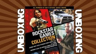 Rockstar Games Collection Unboxing
