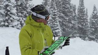 2016 KASTLE BMX 105 HP Video Ski Review