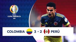 HIGHLIGHTS COLOMBIA 3 - 2 PERÚ | COPA AMÉRICA 2021 |