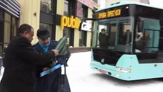 Эталон презентовал 12-метровый низкопольный автобус А12210 Астра