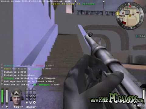 Wolfenstein Enemy Territory /Free PC Game) - Gameplay Video