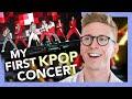 my first kpop concert