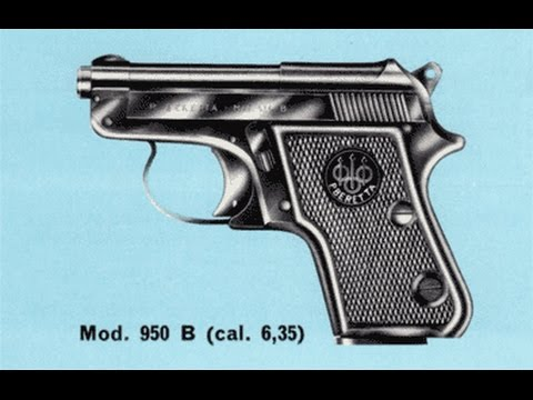 Beretta 950B JetFire - The gun so nice I bought it twice...