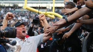 Oakland Raiders coach Jon Gruden on 17-10 Cincinatti Bengals win